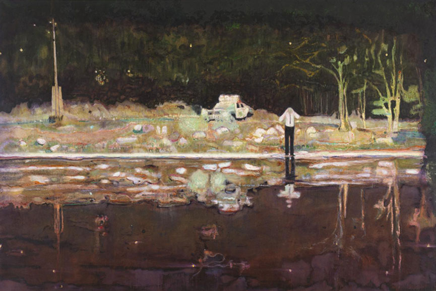 Peter Doig said on paper and in email to New York Times that his search for justice was genuine