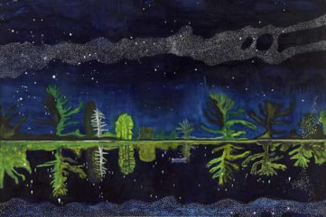 8 Modern and Contemporary Paintings of Night