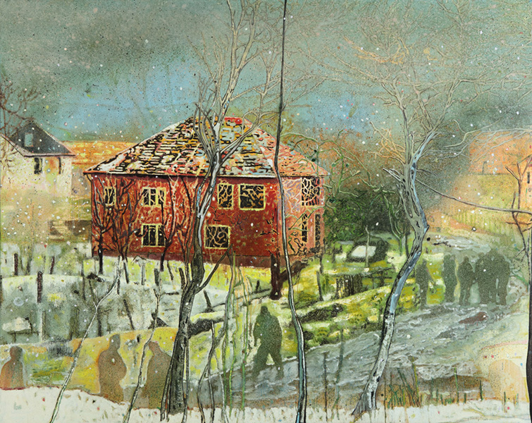 Peter Doig - Red House, 1995–96