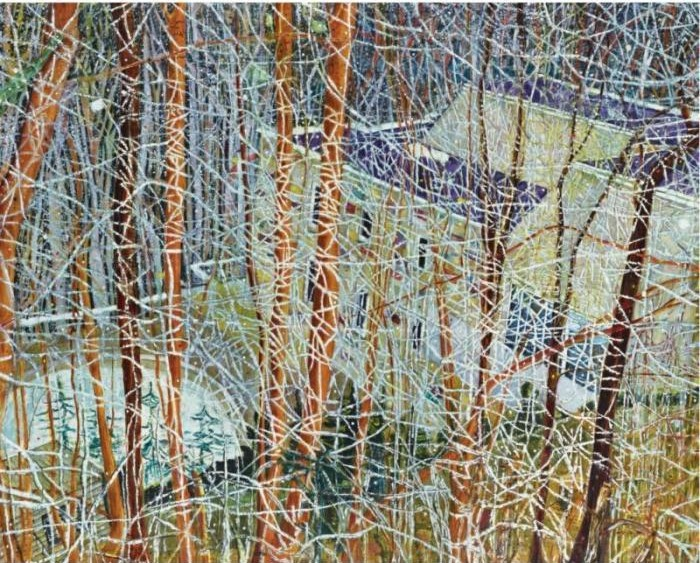 Peter Doig-The Architect's Home in the Ravine-1991