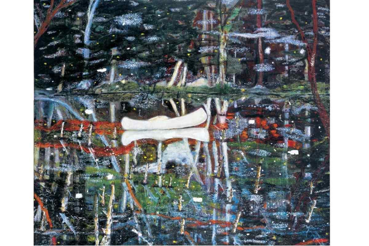 Peter Doig - White Canoe