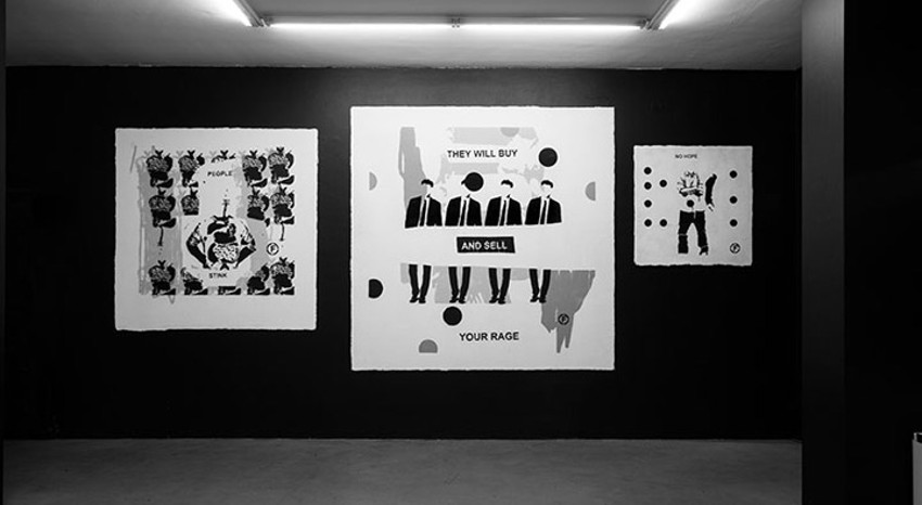 Peter Fuss - Shit and Glory, solo show at Gallery Daeppen, Basel, 2015 - new work