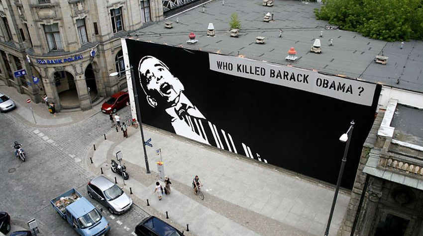 Peter Fuss - Who Killed Barack Obama, 2008