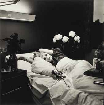 Peter Hujar-Candy Darling on Her Deathbed-1973