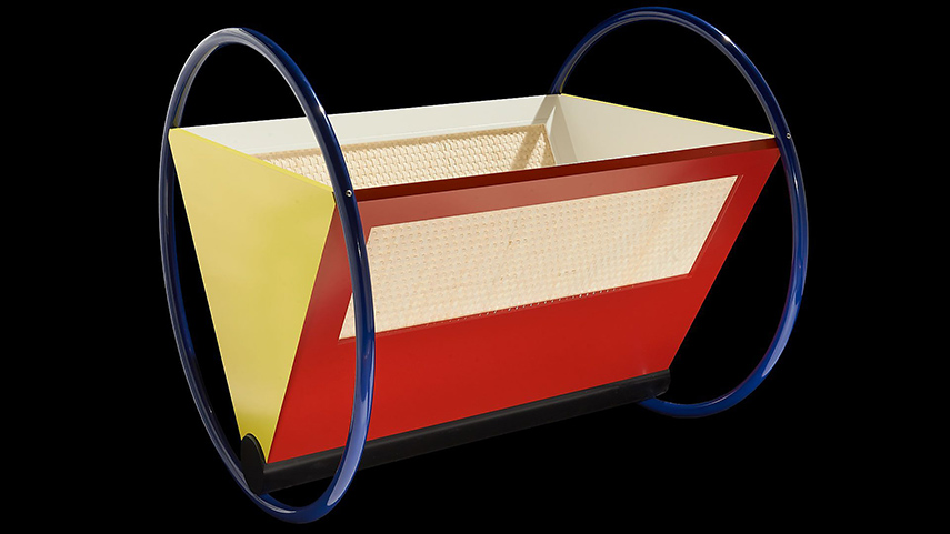 Peter Keler - Bauhaus Cradle, 1922 - image via bbc.co.uk
