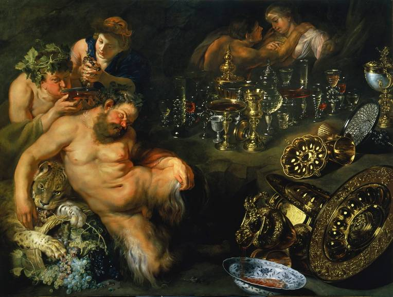 Peter Paul Rubens - The Dreaming Silenus