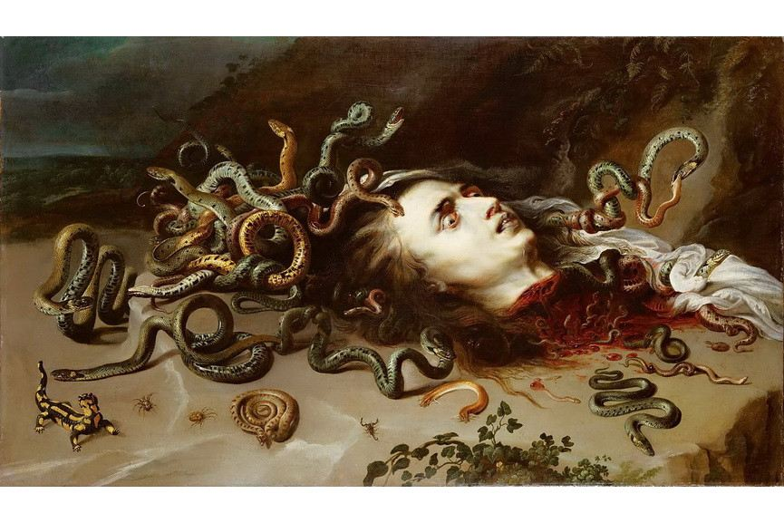 Peter Paul Rubens - The Head of Medusa
