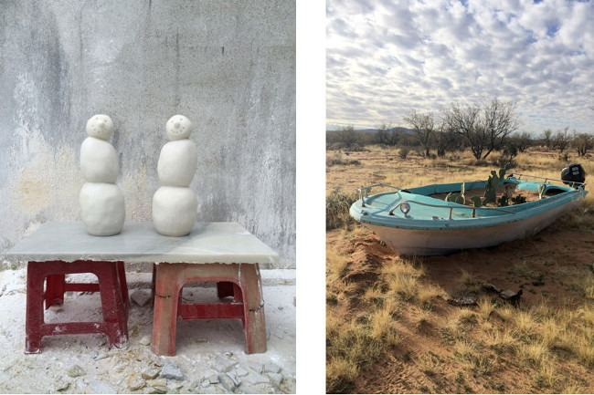 Peter Regli – RH No. 316, Hong Kong, China, 2014, (left) /  Peter Regli – RH No 326, Tucson, AZ, USA, 2015, (right)