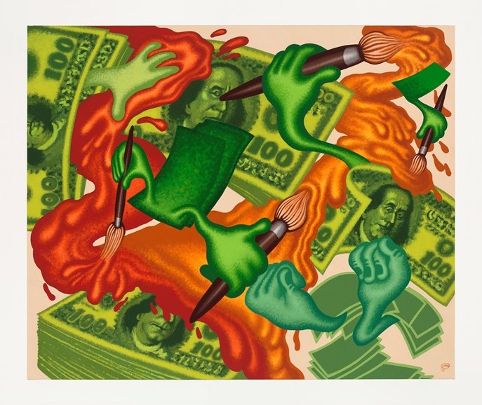 Peter Saul: Some Crazy Pictures