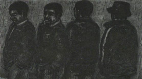 Peterson Kamwathi - Court III, 2011 (detail)