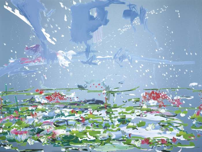 Petra Cortright-Metal Canopy Bed-2014