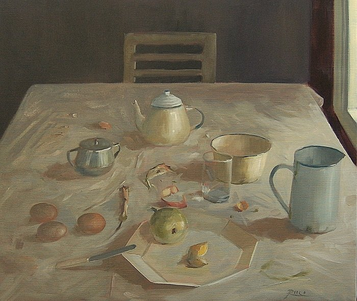 Petra Reece - The Lunch Table, 2015