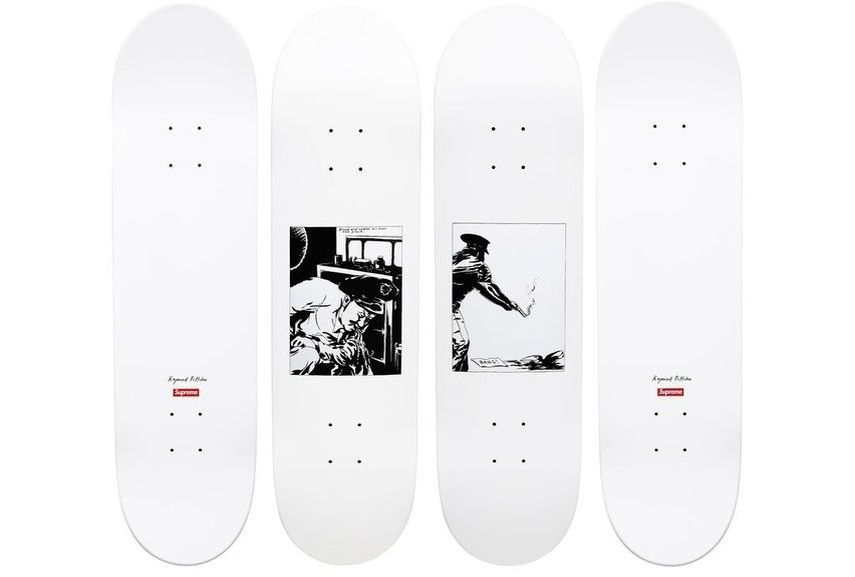 logo shop box best set red springsummer skate 2015 Supreme Skateboard