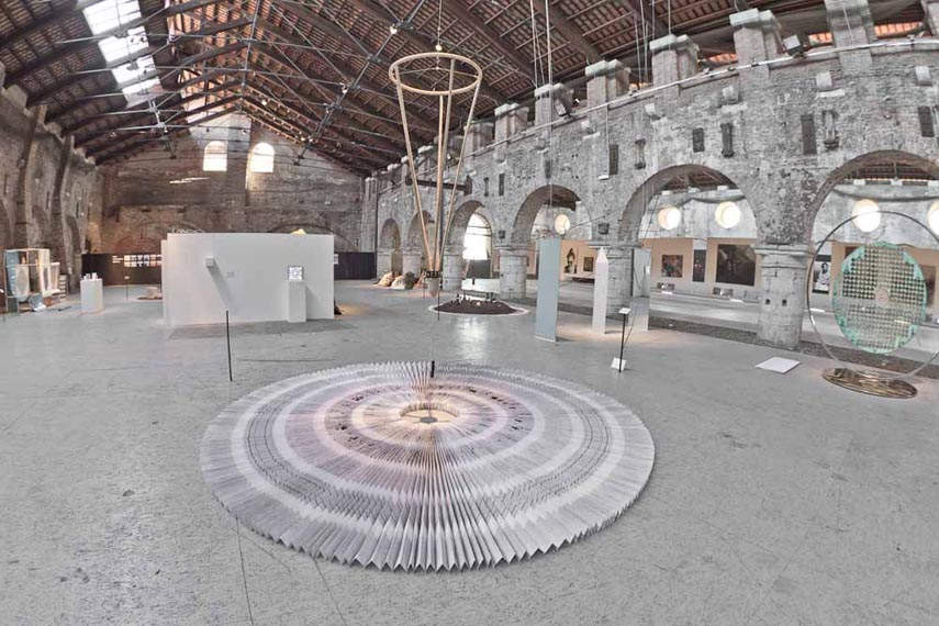 Phil Akashi - The Circle of Time, Venice Arsenale, 2017