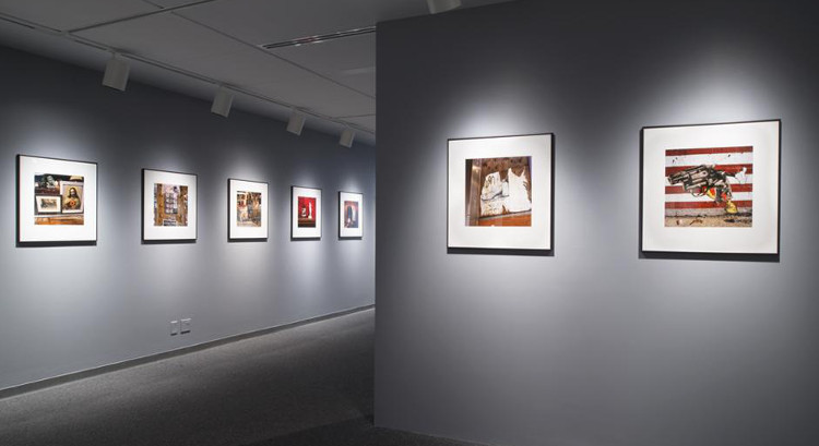 Phil Bergerson - Emblems and Remnants of the American Dream, solo show at Ryerson Image Centre, 2014, installation view, photo credits - Urban Toronto