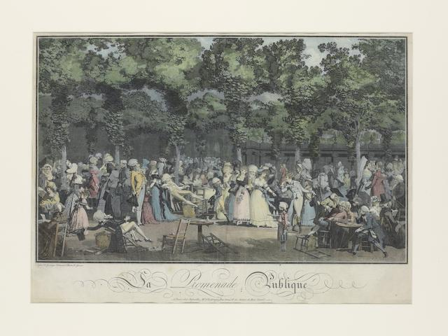 Philibert-Louis Debucourt-La Promenade Publique-1792