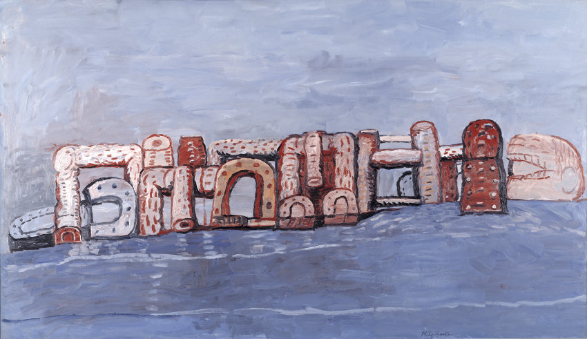 Philip Guston late studio collection is in museum and gallery, like he wanted.