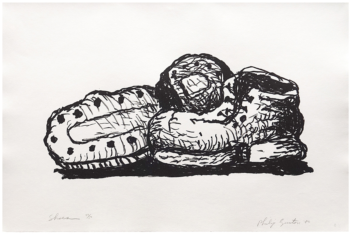 Philip Guston Shoes