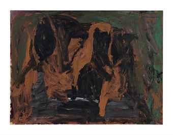 Philip Guston-Sleeper III-1960