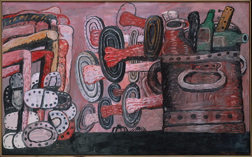Philip Guston - The Street, 1977
