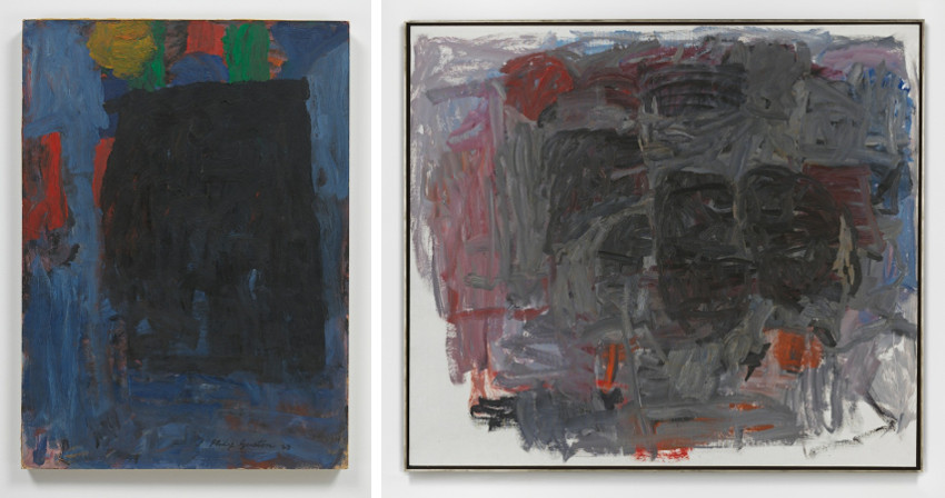 Philip Guston died in 1980, a late period when view was like figuration