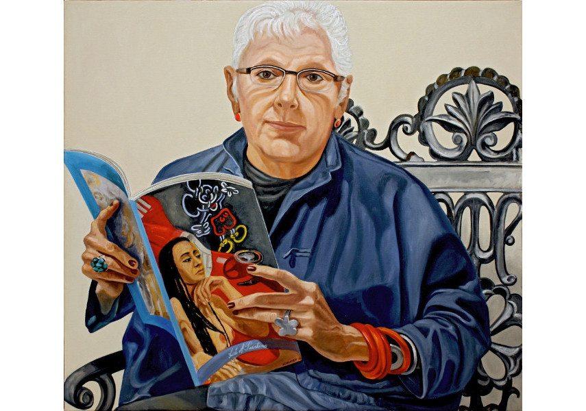 Philip Pearlstein - Linda Nochlin, 2010