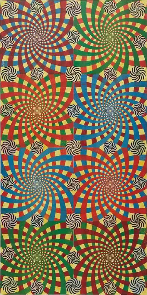 Philip Taaffe-Spiraling Portal-2007