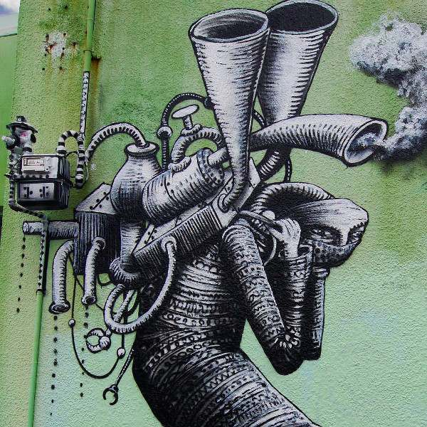 Phlegm - Wellington, North Island, New Zealand 2016 (detail)