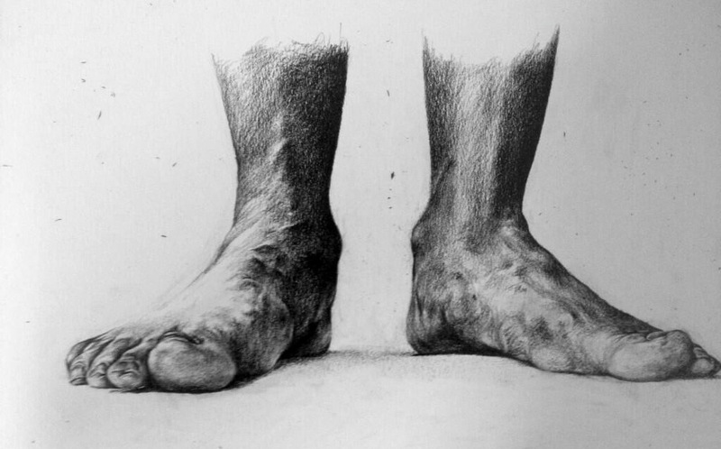 Phoebe Boswell - Mum's Feet, Grounded, 2014