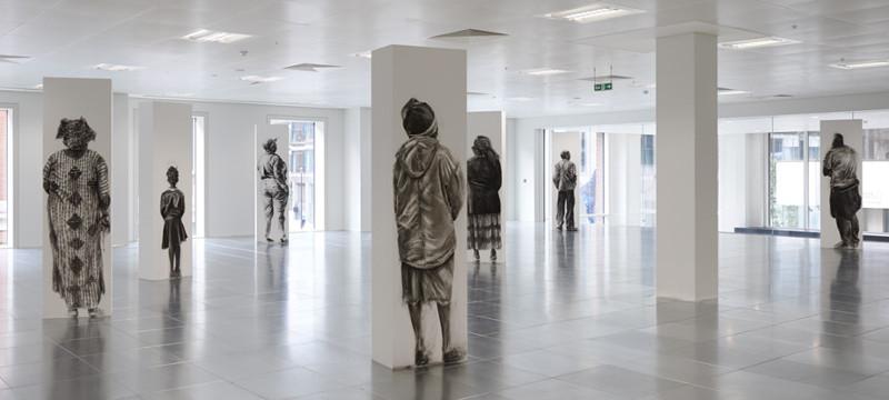 Phoebe Boswell - Transit Terminal, installation, 2014