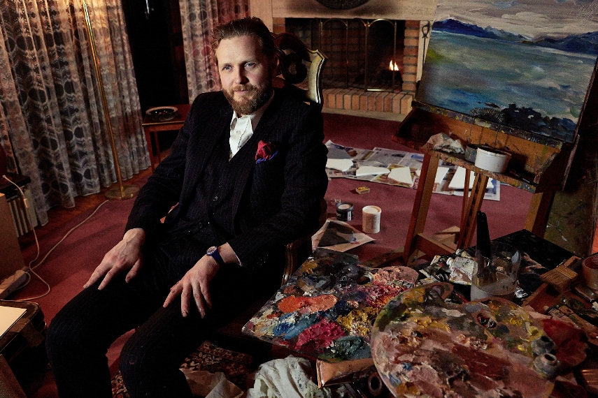 Photo of Ragnar Kjartansson by Elisabet Davids