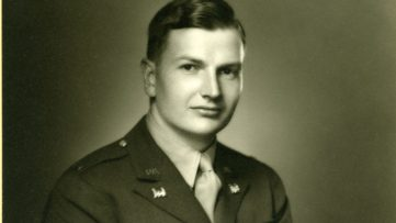 Photo of the young David Rockefeller - Image via rockarchorg