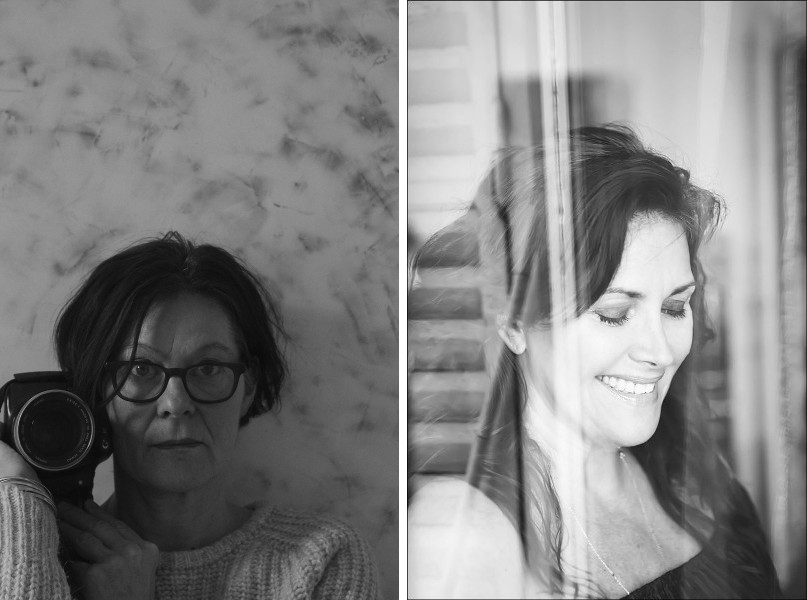 Photos of Ophelia Beckmann and Virginia Valere, both represented by Singulart