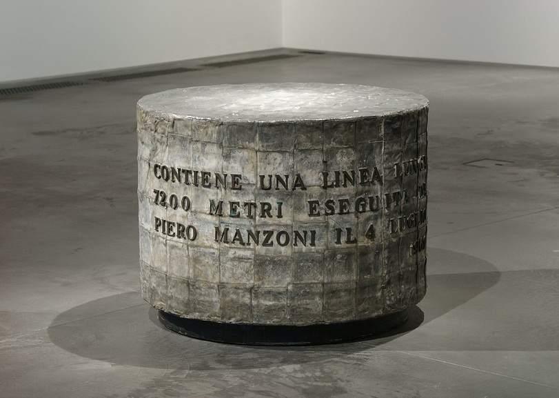 Piero Manzoni - Linea Lunga 7200 metri