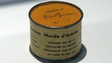 Piero Manzoni - Merda D'artista, 1961