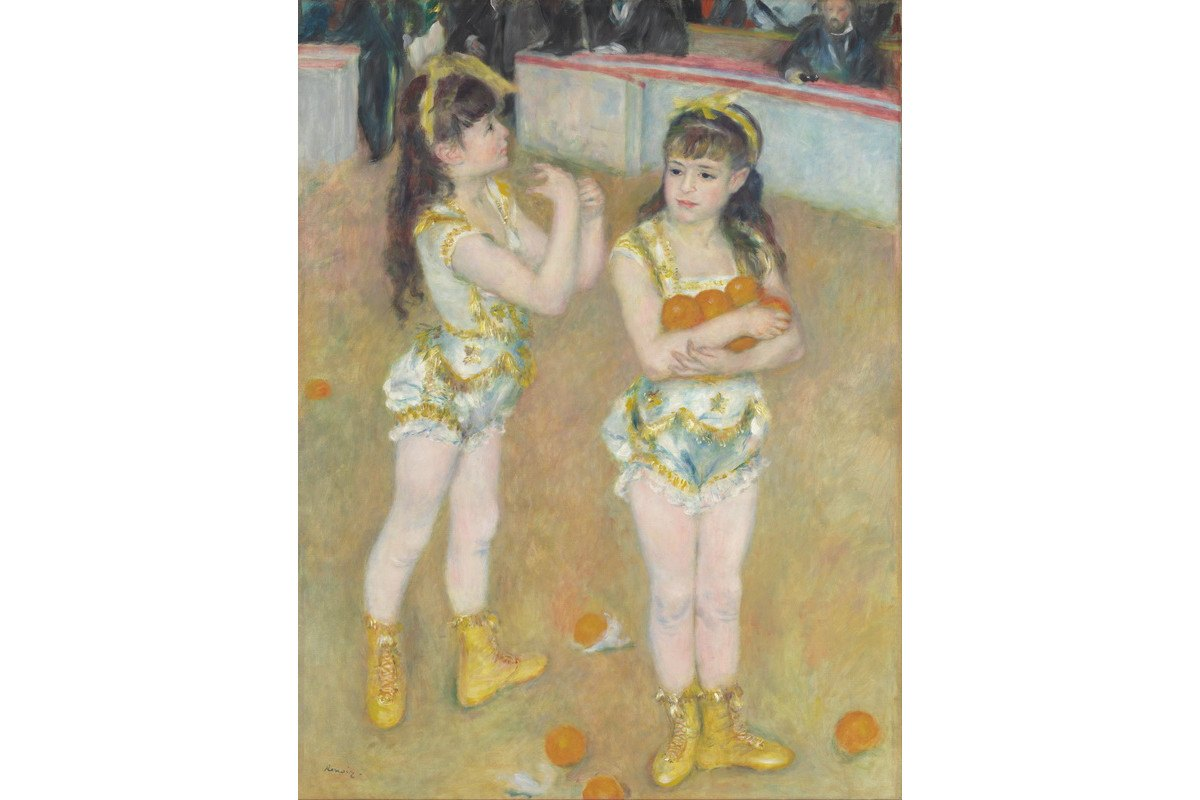 Pierre-Auguste Renoir - Acrobats at the Cirque Fernando