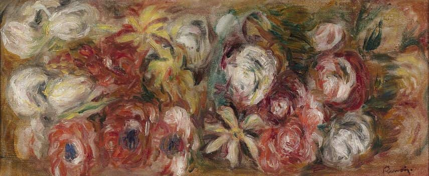 Pierre Auguste Renoir - Jeté de Roses, presented during one of the night events