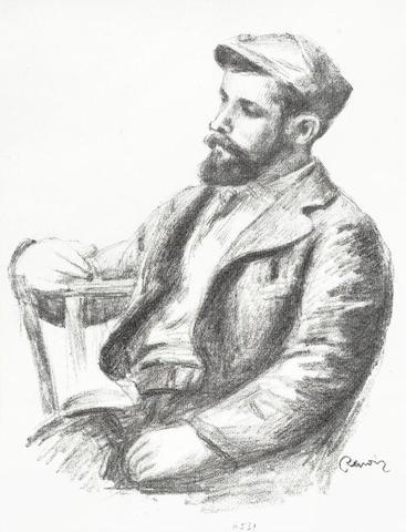 Pierre-Auguste Renoir-Louis Valtat, from L'Album des Douze Lithographies-1904