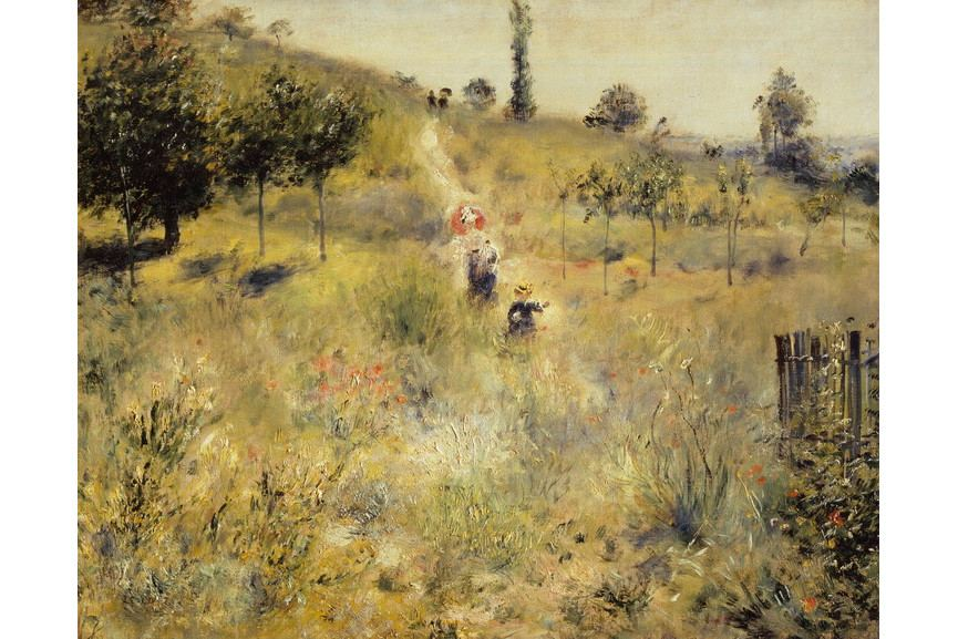 Pierre-Auguste Renoir - Way up in the high grass