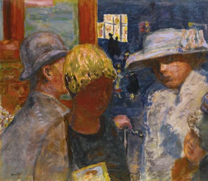 Pierre Bonnard-Cinq Personnages-1915