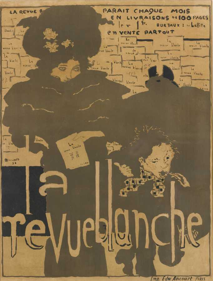 Pierre Bonnard-La Revue Blanche-1984