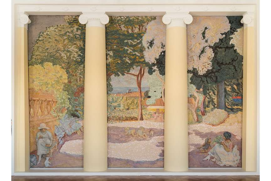 Pierre Bonnard - Triptych