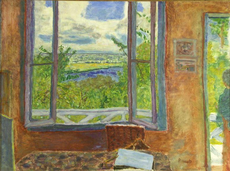 Pierre Bonnard - Window Open on the Seine