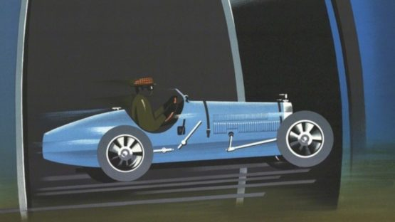 Pierre Fix-Masseau - Bugatti, 1989 (detail)