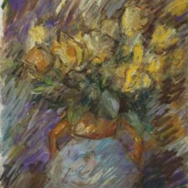 Pierre Gogois-Fleurs jaunes