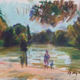 Pierre Gogois-Le bois de Boulogne
