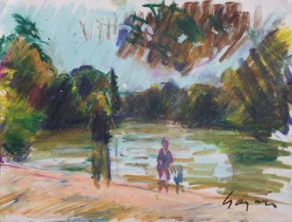 Pierre Gogois-Le bois de Boulogne-