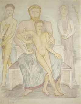 Pierre Klossowski-L'apotheose de Ganymede-1986