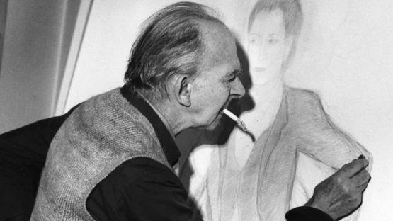 Pierre Klossowski portrait