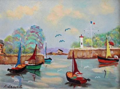 Pierre Lassale-Honfleur-1980